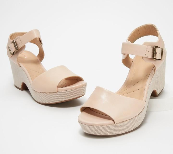 Leather Janna Sandals Leather Wedge Maritsa Maritsa Wedge Sandals lFKc1J