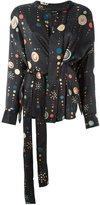 Isabel Marant 'Oliver' cosmic print blouse