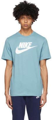 Nike Blue Icon Futura T-Shirt