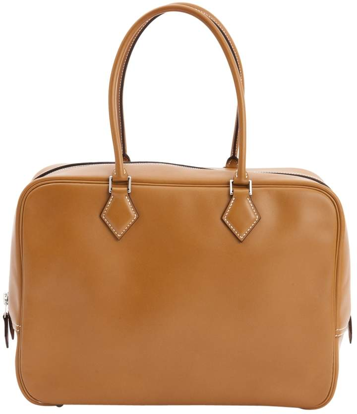 Hermes Plume leather tote
