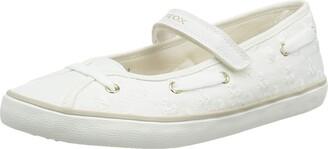 Geox Girl's Kilwi Canvas Mary Jane Shoe