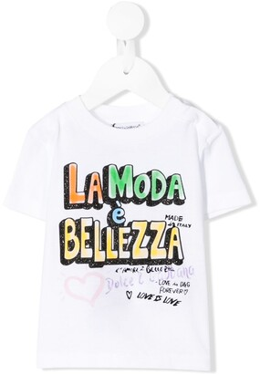 Dolce & Gabbana graphic-print cotton T-shirt