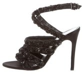 Alberta Ferretti Jeweled-Embellished Sandals