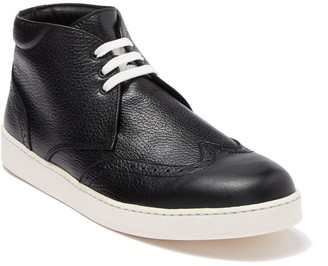 Bugatchi Wingtip Leather Sneaker