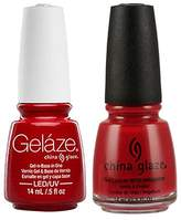 China Glaze Gelaze Tips and Toes Nail Polish,2 Count