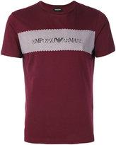 Emporio Armani printed T-shirt - men - Cotton - S