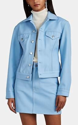 Helmut Lang Women's Denim Trucker Jacket - Lt. Blue