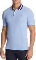 Fred Perry Oxford Bomber Pique Classic Fit Polo Shirt