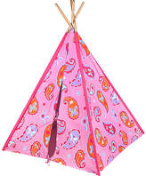 Levels of Discovery Pink Paisley Canvas Tent