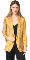 Giada Forte Satin Striped Jacket