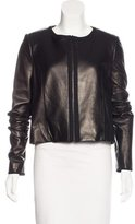 Jason Wu Leather Structured Jacket