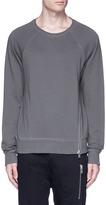 Den Im By Siki Im Asymmetric zip sweatshirt
