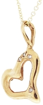 Lucifer Vir Honestus Ylang23 Charm for Charity - Rose Gold Heart with Diamonds