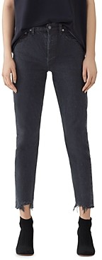 AGOLDE High Rise Slim Jeans in Compass