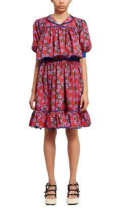 Raramuri Printed Blouse Skirt Set
