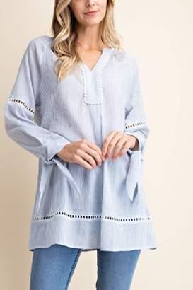 Kori America Pin Stripe Shirt