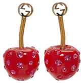 Gucci Red Small Cherry Earrings