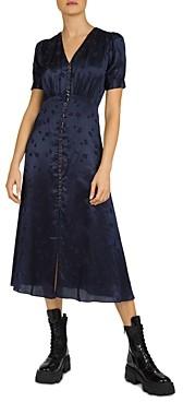 The Kooples Mandarine Jacquard Dress