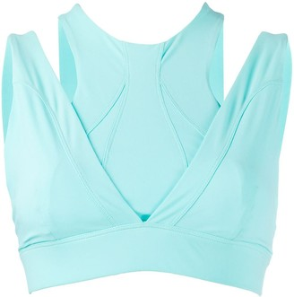 NO KA 'OI Criss Cross Back Sports Bra