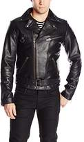 Nudie Jeans Men's Ziggy Punk Leather Jacket