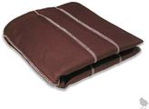 Strip throw blanket