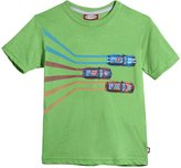City Threads Race Car Tee (Baby) - Bright Light Blue-18-24 Months
