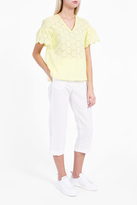 Paul & Joe Sister Hexagone Embroidered Top