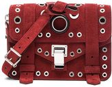 Proenza Schouler Mini PS1 Suede & Leather Grommets