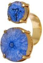 Mela Artisans Blue Reef Runner Wrap Ring
