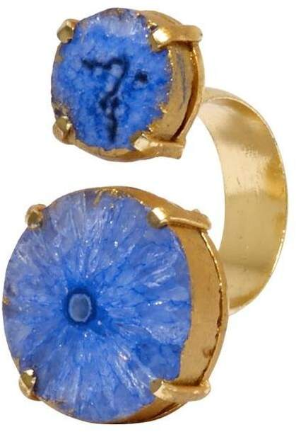 Mela Artisans Blue Reef Runner Wrap Ring