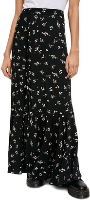 Free People Ruby's Forever Print Maxi Skirt