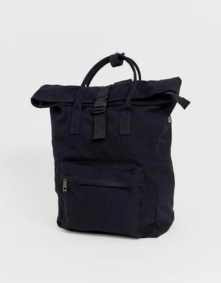 Asos Design DESIGN large canvas backpack with laptop compartment