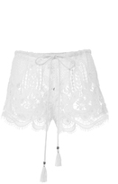Miguelina Minnie Embroidered Shorts
