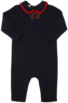 Gucci Cotton Sweatshirt Romper