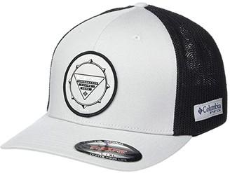 Columbia PFG Meshtm Seasonal Ball Cap (Cool Grey/Black) Caps