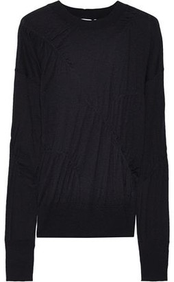 Helmut Lang Gathered Cashmere Sweater