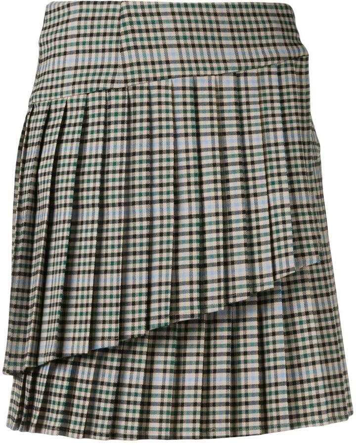 P.A.R.O.S.H. asymmetric mini skirt