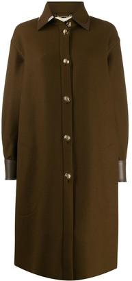 Fendi Long Shirt Coat