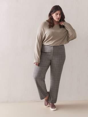 Cashmere-Blend Dolman-Sleeve Sweater - Addition Elle