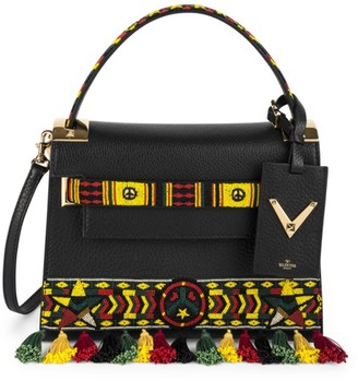Valentino Garavani My Rockstud Small Jamaican Beaded Leather Bag