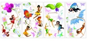 York Wall Coverings York Wallcoverings Disney Fairies Peel and Stick Wall Decals