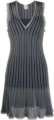 M Missoni Ribbed Sleeveless Mini Dress