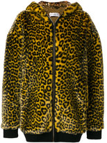 Faith Connexion leopard print coat