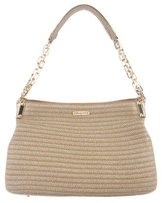 Eric Javits Metallic Straw Shoulder Bag