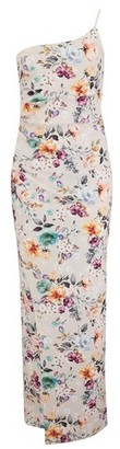 Dorothy Perkins Womens Girls On Film Multi Colour Floral Print Maxi Dress