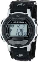 Freestyle Men's FS84886 Predator Nylon Black/Silver Watch