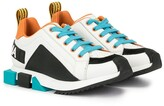 Dolce & Gabbana colour-block sneakers