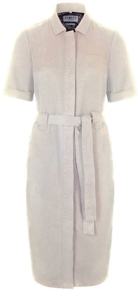 Komodo Linlin Tencel Linen Shirt Dress Warm Sand
