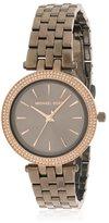 Michael Kors Women's Steel Bracelet & Case Quartz Analog Watch Mk3553