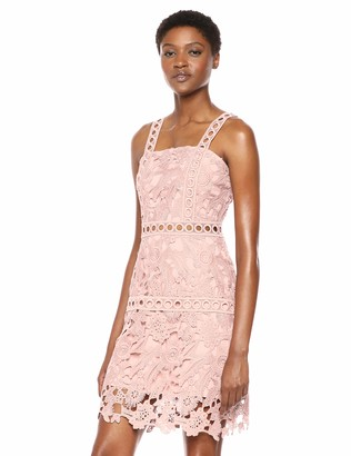 Sam Edelman Women's Lace Shift Sheath Dress